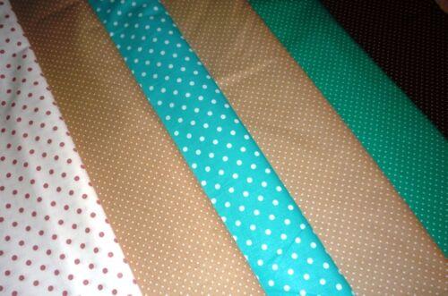 Baumwollstoff kleine Punkte 100/% Baumwolle ab 50cm dotts Behelfsmasken u