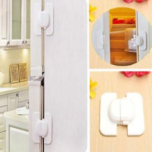 Kids-Safety-Door-Lock-Proof-Cupboard-Fridge-Cabinet-Child-Prevent-Clamping-HOT-T