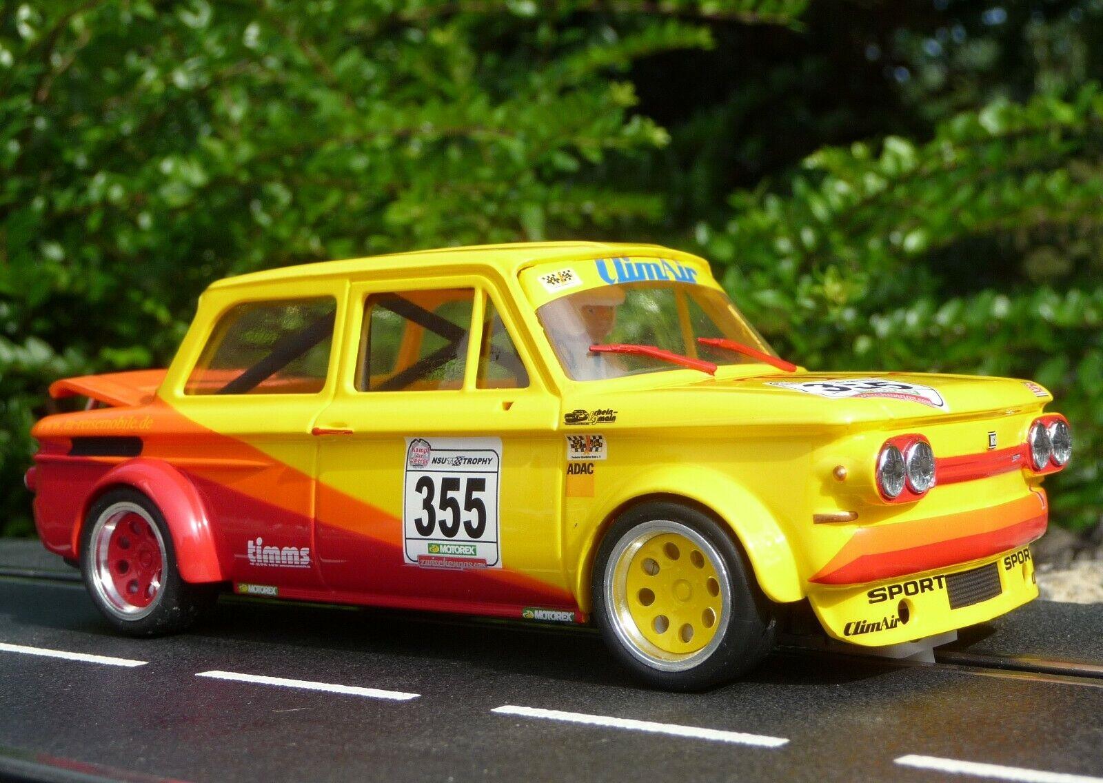 Slotcar BRM NSU TTS Prinz in 1 24 auch für Carrera Exclusiv   BRM094