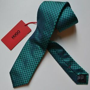 NWT-HUGO-Red-Label-By-Hugo-Boss-Silk-Tie-039-Tie-cm-6-039