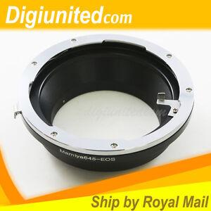 Mamiya-645-M645-lens-to-Canon-EOS-EF-mount-adapter-5D-II-7D-6D-III-70D-60D-700D