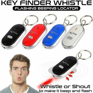 Porta chiavi  Key Finder Portachiavi Sound LED Con fischietti chiave