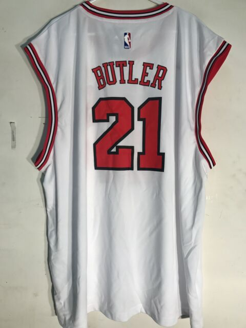 new arrivals 86dd1 46f15 adidas NBA Jersey Chicago Bulls Jimmy Butler White Sz 3x