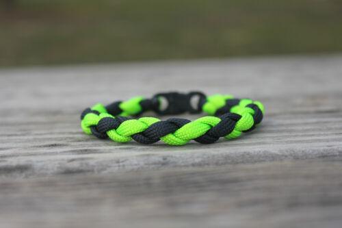 550 Paracord Round Braid Bracelets