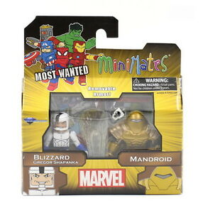 Minimates-Blizzard-Gregor-Shapanka-amp-Mandroid-Marvel-Series-69-Classic-Avengers