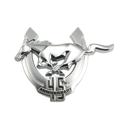 2009 Mustang Genuine Ford Driver/'s Side 45th Anniversary Chrome Emblem LH
