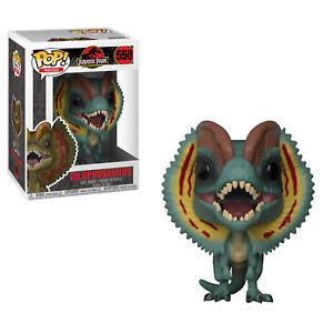 "JURASSIC PARK dilophosauri 3.75/"" POP Figura in vinile MOVIES FUNKO 550"