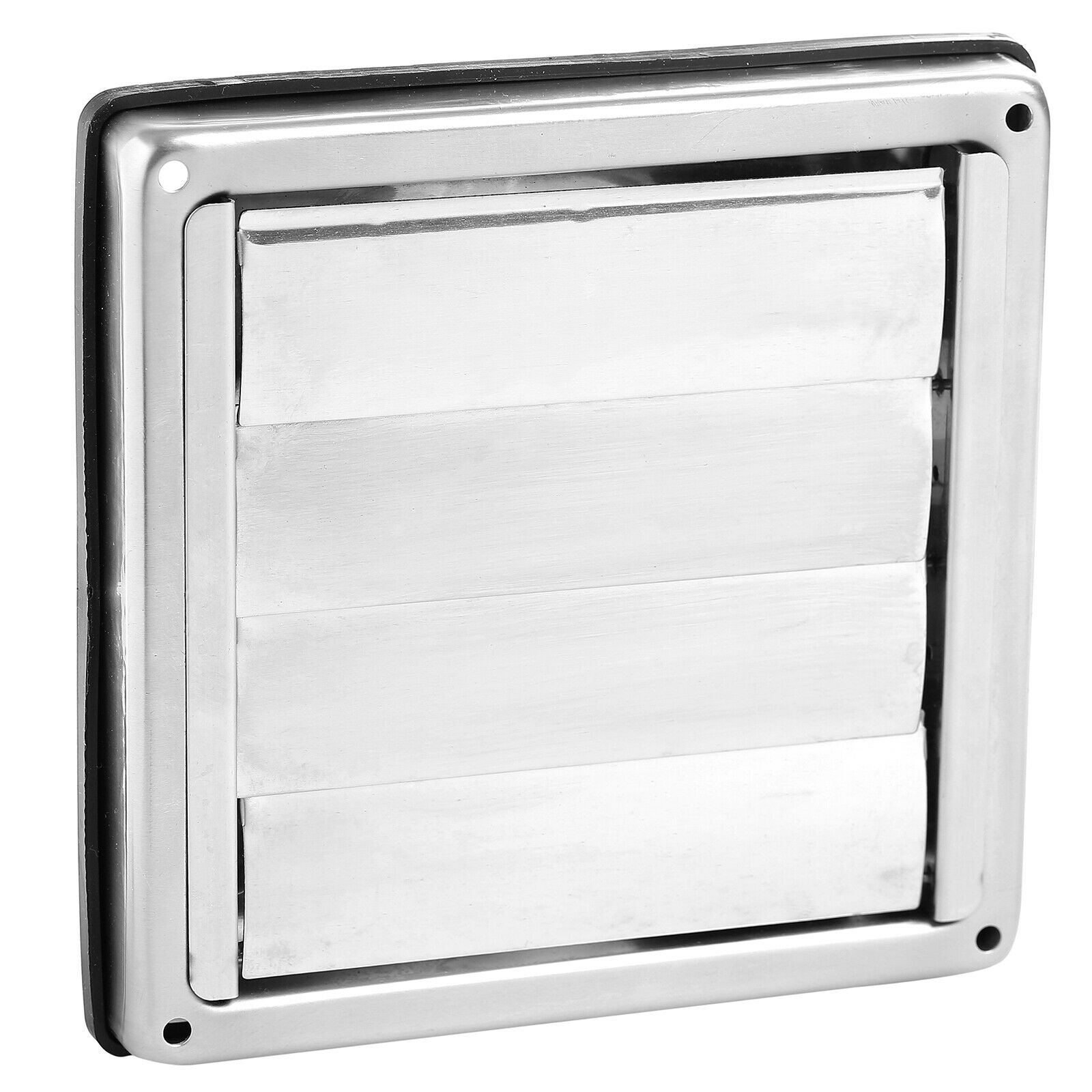 100mm Stainless Steel Wall Air Vent Square Tumble Dryer Extractor Fan