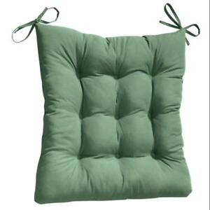 2pc padded rocking chair cushion set hunter green 692754235816 ebay