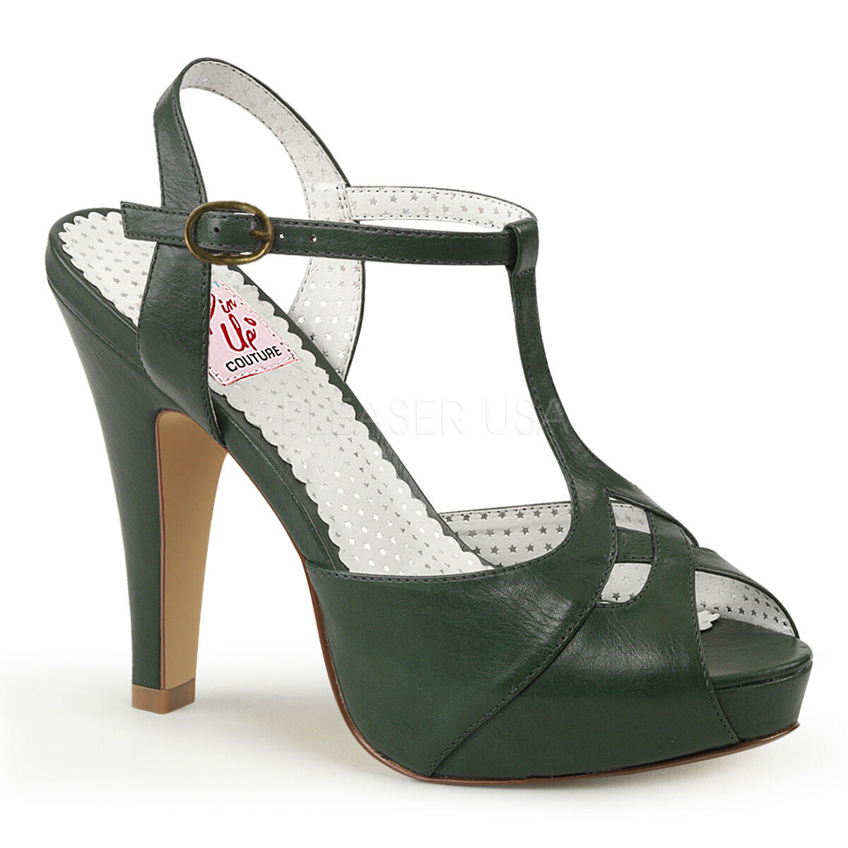 Pinup Couture BETTIE-23 sexy Platform T-Strap Sandale