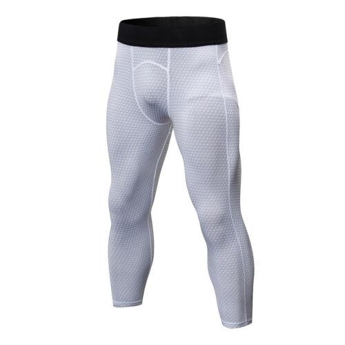 Herren Kompression Leggings Hose Fitness Sporthose Laufhose Gym Training Sport