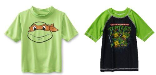 Teenage Mutant Ninja Turtles Toddler Boys Rashguard Swim Shirt 2 Choices NWT