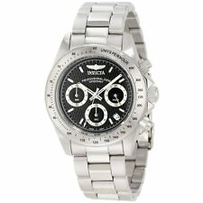 Invicta Men's Stainless Steel Speedway Chronograph Black Dial Diver 9223