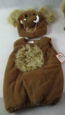 ICE AGE HALLOWEEN COSTUME 7-8 NEW NWT POTTERY BARN KIDS WOOLLY MAMMOTH