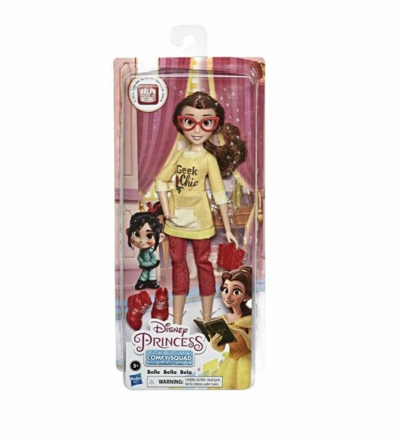 Disney Princess Comfy Squad Doll Belle Ralph Breaks The Internet Geek Chic W9 For Sale Online Ebay