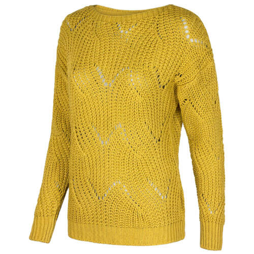 HAILY´S Damen Strickpullover Groobstrick Pullover Pulli Zopfmuster weit Oversize