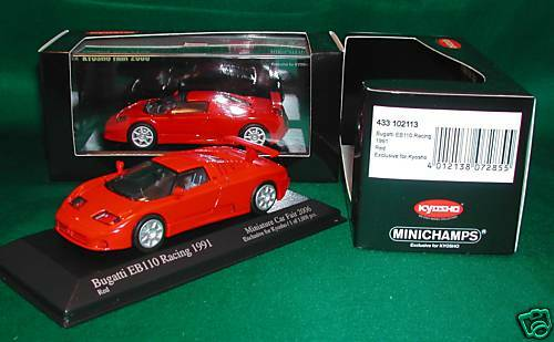 Bugatti Bugatti EB110 Racing 1991 Red Exc for Kyosyo Japan