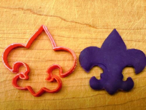 3D Printed Plastic Boy Scout Symbol Cookie Cutter Choice of Sizes