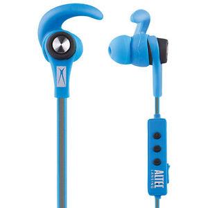 reputable site 27c5c dfae1 Details about Altec Lansing MZX856 In-Ear Bluetooth Sport Headphones - Blue  Waterproof