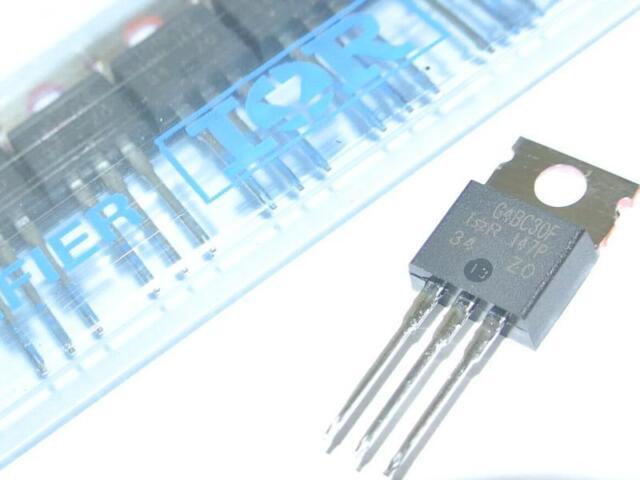 IRG4BC30FPBF Transistor IGBT N-Ch 600V 31A TO220AB G4BC30F  [QTY=1pcs]