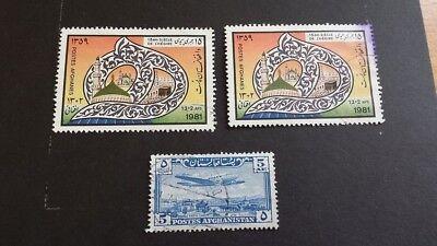 Briefmarken Lot Afghanistan Afghanes
