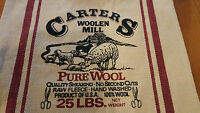 Primitive Country Table Runner Sheep Wool Barn Farm woolen Mill 100% Cotton