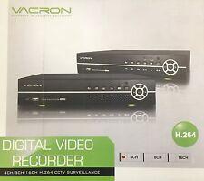Vacron  Cctv Surveillance 4 CH DVR VDH-4200B, H.264, Motion Detection,  Audio