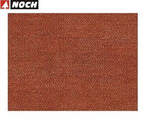 NOCH-H0-56610-3D-Kartonplatte-Mauerplatte-034-Klinker-034-1-m-57-28-NEU