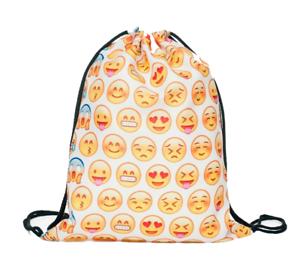 Turnbeutel Tasche Beutel Rucksack Damenrucksack Rucksack Smileys