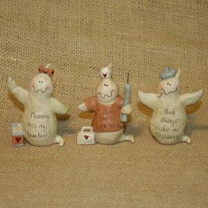 Boo-Ghosts-Set-3-Blossom-Bucket-Resin-Halloween-Figurine-Suzi-Skoglund