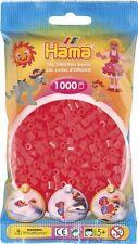 Hama - 207-35 Sachet 1000 Perles à repasser Rouge Neon