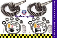 Jeep Cherokee 1984 To 2001 Re Gearing Package Front And Rear W Kits 4.88 Ratio