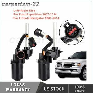 1 Pair Power Running Board Motor For Lincoln Navigator Ford 2007-2014 Left Right
