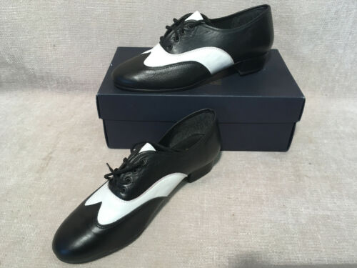 White  Dancing Shoes NOS RumpF 347 Black RRP £65.00