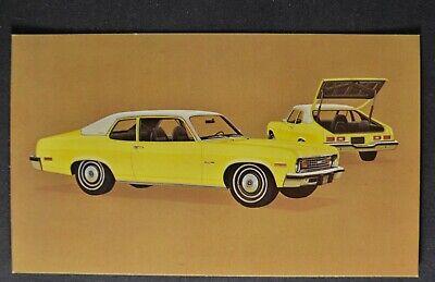 Chevelle Brochure Coupe//Sedan 1974 Chevrolet NOS
