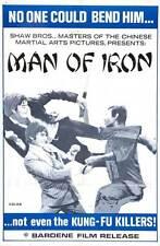 MAN OF IRON Movie POSTER 27x40 Kuan Tai Chen Li Ching Wang Chung Kang Liu Chen