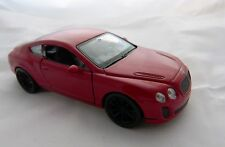 Welly Bentley Continental Supersports in dunkel rot ca. 12 cm lang