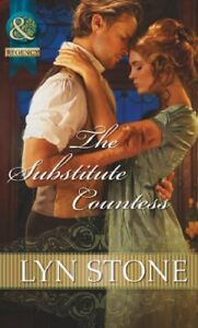 0263898318-Paperback-The-Substitute-Countess-Mills-amp-Boon-Historical-Stone-Ly