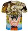 New-Women-Men-039-s-Dragon-Ball-Z-Vegeta-Goku-Super-Saiyan-3D-Print-Casual-T-Shirt thumbnail 10
