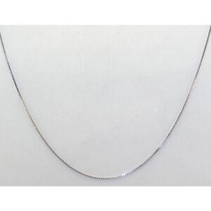 veneziana-Collana-925-in-argento-catenina-rodiato-nikelfree-cm-45-uomo-donna-qc