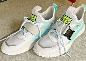 PUMA-Men-039-s-Hi-Octn-x-Need-For-Speed-Low-Top-Sneakers-WHITE-Unworn-Shoes-US-Sz-9