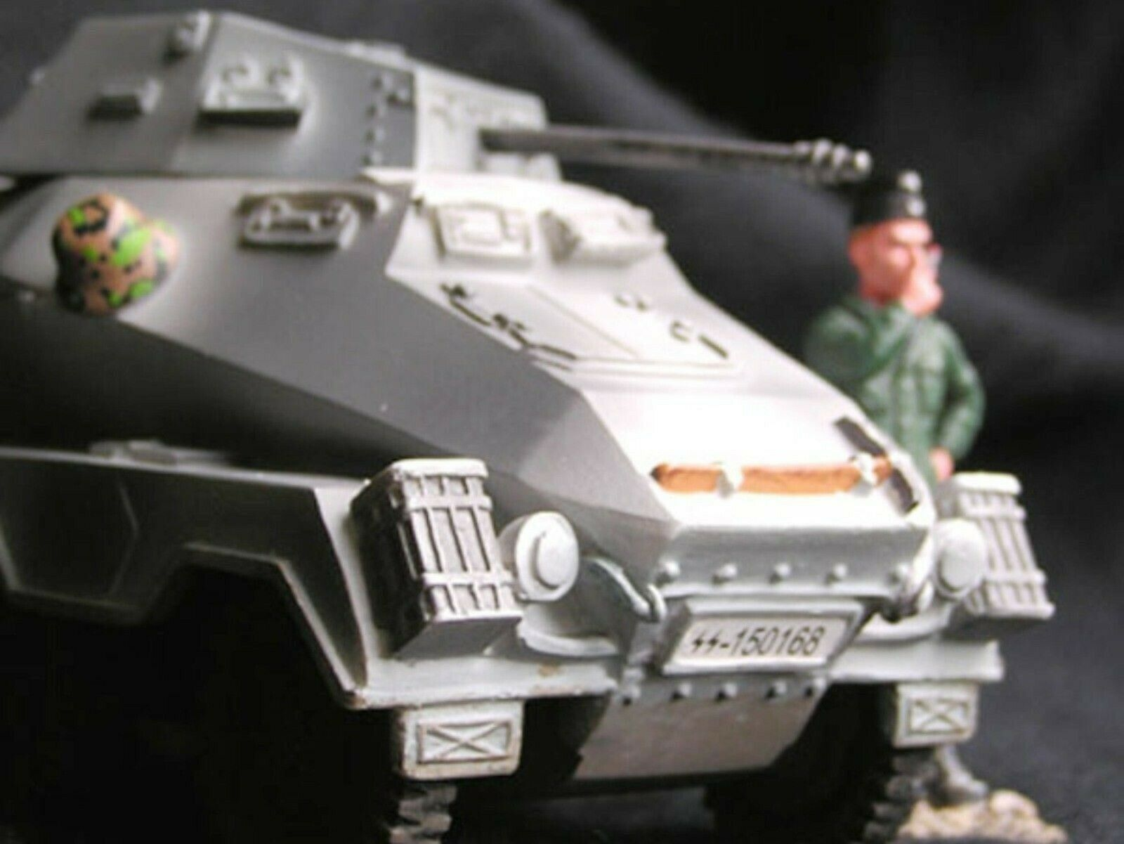 WOW EXTREMELY RARE Puma Sd. Kfz 232 8-Rad 8x4 Bulge 45 BNIB 1 30 New Model Army