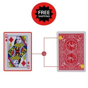 Marked-Playing-Card-Decks-Magic-Trick-Stripper-Deck-Bicycle-Cards-Poker-Playing