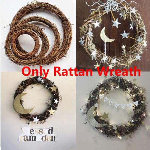 Wedding Wreaths Rattan Garland Sepak Takraw Round Shape Ramadan Decoration