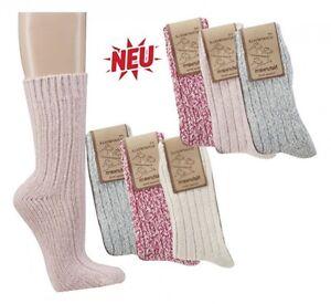 Chaussettes-norvegiennes-3er-Teilung-Couleurs-pour-femmes
