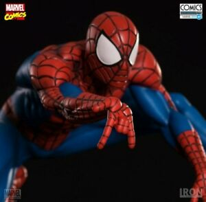 RARE-LE-Iron-Studios-Marvel-Spider-Man-1-10-Art-Scale-Polystone-Statue-Figurine