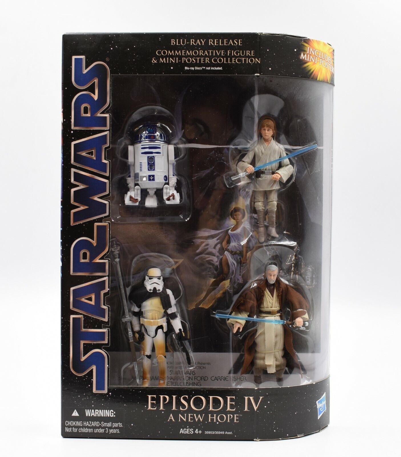 Guerra de las Galaxias episodio IV A New Hope Conmemorativa Acción Figura Colección