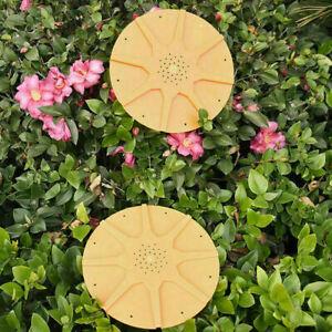 Bienenzucht-Bienenstock-8-WEGE-BIENE-ESCAPES-16-cm-Runde-Imkerei-Werkzeuge-G4X1