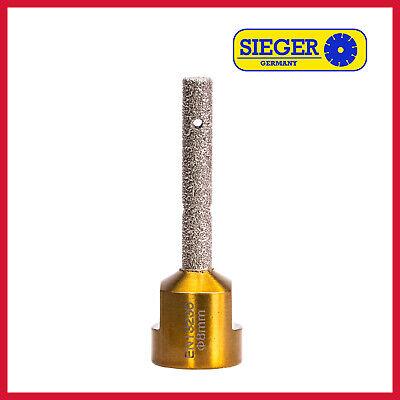 Diamantfräser Premium 8 mm M14 für Fliesen Feinsteinzeug Granit Kacheln Keramik