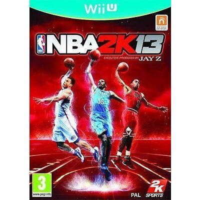 Nintendo WiiU Wii U Spiel ***** NBA 2K13 ********************************NEU*NEW